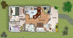 Explore 11 Modelos de Plantas de casas pequenas para construir e inspire-se para escolher o melhor projeto para sua residência.