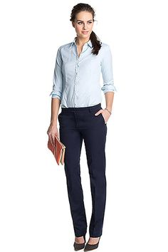 Esprit Plain White Shirt, Office Attire, Women's Fashion, Fashion Outfits, Spring Looks, Style Guides, Supermodels, Work Wear, What To Wear