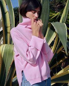 Cozy monday  #regram @nanushka #sweaterweather #pink #mood #monday #cozy #sweater #nanushka #inspiration #harpersbazaar #harpersbazaarpolska  via HARPER'S BAZAAR POLAND MAGAZINE OFFICIAL INSTAGRAM - Fashion Campaigns  Haute Couture  Advertising  Editorial Photography  Magazine Cover Designs  Supermodels  Runway Models