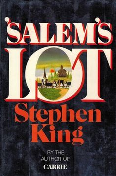 Salem's Lot -- a very creepy book about vampires, a must read for any vampire fan.  Be prepared to be scared.
