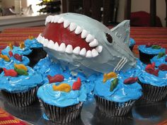 Cool birthday cake - or maybe scary??