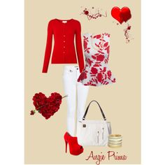 """Happy Valentine's Day!"" with Miche by Barbara Clark on Polyvore"
