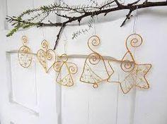 Výsledok vyhľadávania obrázkov pre dopyt vianočné dekorácie z drôtu