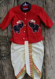 Ideas Sweatshirt Girl Boys For 2019 Baby Boy Ethnic Wear, Kids Ethnic Wear, Baby Boy Dress, Baby Boy Outfits, Kids Outfits, Baby Boy Fashion, Kids Fashion, Kids Kurta, Boys Kurta Design