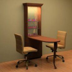 Love your work with ikea desks home office design desks for Small manicure table