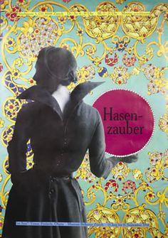 Trix Wetter poster: Hasen-zauber, 1998