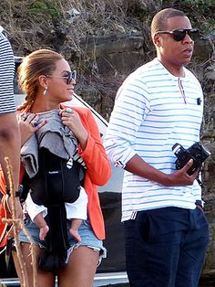 Blue Ivy Carter Goes Sailing in the Caribbean