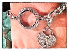The new bracelet and heart dangle coming out this fall.  www.kross.origamiowl.com