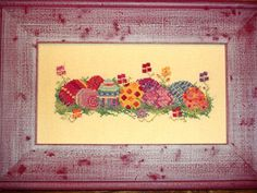 Easter Eggs Cross Stitch Pattern Needlework by countrygarden