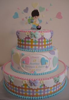 #Precious #Moments #Baby #Shower By Silvia715 On Cake Central