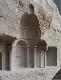 Matthew Simmonds Carves Amazing Architecture out of Stone and Marble