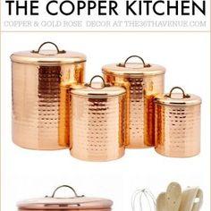 Copper Effect Kitchen Appliances