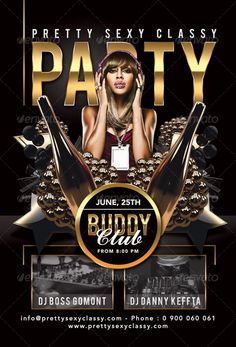 Buy Pretty Sexy Classy Party In Club by on GraphicRiver. Pretty Sexy Classy Party In Club is a flyer templater for a special evening in a club, bar or related to any other ki. Flyer And Poster Design, Flyer Design, Birthday Flyer, Reds Bbq, The Good German, Bbq Apron, Grilling Gifts, Psd Flyer Templates, Summer Barbecue