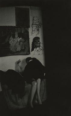 Eugene Smith, Jazz at Young's (David X. Young with friend), 1959 Howard Greenberg Gallery Celebrity Photographers, Great Photographers, Eugene Smith, Eugene Atget, Edward Steichen, Berenice Abbott, Gordon Parks, American Photo, Edward Weston