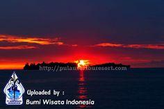 Sunset at Pulau Seribu, Indonesia, Jakarta | Thousand Islands Sunset #sunset #pulauseribu