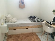 Tiny little bedroom
