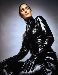 matrix reloaded trinity | ... di Carrie-Anne Moss che interpreta Trinity nel film 'Matrix Reloaded