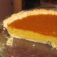 """Creamy Pumpkin Pie 