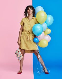 The elevated shirt dress.
