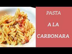Cómo hacer pasta carbonara  #pasta #carbonara #pastacarbonara Pasta A La Carbonara, Spaghetti, Ethnic Recipes, Food, How To Make, Earth, Easy Recipes, Ethnic Food, Cooking