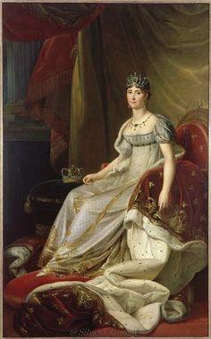 Joséphine after François Pascal Simon Gérard (Châteaux de Malmaison et Bois-Préau, Malmaison France).