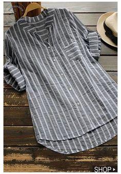 Tunic Blouse, Shirt Blouses, Shirt Dress, Linen Blouse, Linen Pants, Tunic Tops, Outfit Chic, Stylish Shirts, Casual Shirts