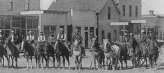 Pictures of the past of Browning Montana and the Blackfeet Indian Reservation