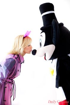 Anniversary with Mickey Mouse