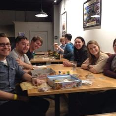 Photo of Spielbound - Omaha, NE, United States. Huge tables perfect for playing board games!