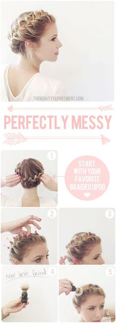 40 Pretty Braided Crown Hairstyle Tutorials and Ideas - Page 34 of 40 - HairSilver