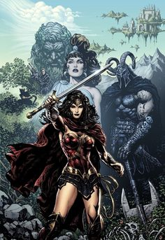 Wonder Woman DC Rebirth Issue 1 The DC Comics Rebirth: A Complete Guide For New Readers
