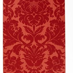 529194 Fiorella Damask Red Schumacher Wallpaper you can purchase this pattern online for less plus samples available. Thanks for shopping Mahones Wallpaper Shop for pattern Remember Mahones Wallpaper Shop only sells hand materials straight from Schumacher Damask Wallpaper, Wallpaper Size, Wallpaper Samples, Pattern Wallpaper, Fake Wallpaper, Luxury Flooring, Schumacher, Hand Knotted Rugs, Rugs On Carpet