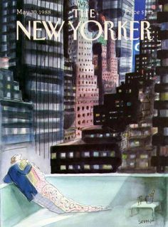 The New Yorker, 1988 © Sempé