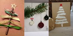 25 υπέροχες ιδέες για χριστουγεννιάτικες κάρτες
