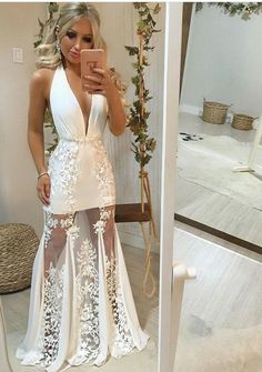 Beach Wedding Dresses,Wedding Dress,Custom Made Wedding Gown · Sweet Lady · Online Store Powered by Storenvy Trendy Dresses, Elegant Dresses, Nice Dresses, Casual Dresses, Short Dresses, Prom Dresses, Formal Dresses, Wedding Dresses, Casual Shoes