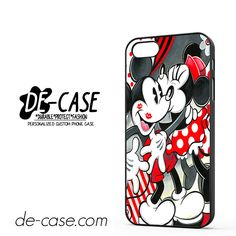 Mickey Mouse Kissing By Minnie Mouse Disney DEAL-7208 Apple Phonecase Cover For Iphone SE Case