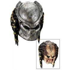 Deluxe Predator Mask with Detachable Faceplate Costume Accessory: Clothing  http://www.halloweenfamilyfun.com/  #fairy_tale_costumes #disney_adult_costumes #adulthalloweencostumes #halloween 2013 #snowwhitecostume #halloweencostumesfemaleadult #princess_female_costume #robin_costume_batman #best_adult_costume #predator_mask_halloween