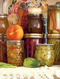 Tips for canning fruits and vegetables safely.