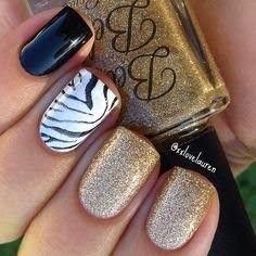 Modern Nails Art Ideas 2015 Glitter Nail Art, Painting, Nail Designs, Glitters, Beauty, Nail Desings, Beleza, Cosmetology, Nail Design