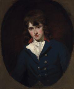 John Hoppner (English 1758-1810):  William Locke [aged 17], 1783-4
