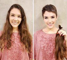 Die 264 Besten Bilder Von Frisuren In 2019 Pixie Cut Pixie Cuts