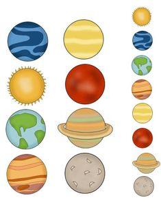 Solar System Beginning Readers