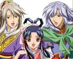 The Story of Saiunkoku   Аниме обои The Story of Saiunkoku (первый сезон ...
