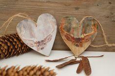 foto op hout, met spullen van Action