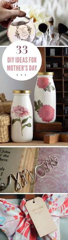 33 Mothers Day Gifts You Can DIY