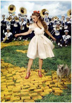 Keira Knightley in Vogue by Annie Leibovitz