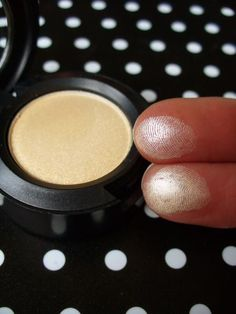 MAC Nylon. Absolutely the best under brow bone & tear duct highlight eyeshadow ever!