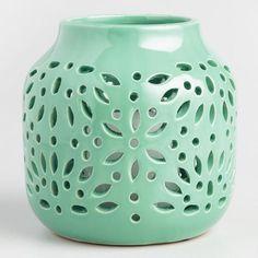 Ceramic Cutout Lantern - v1