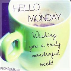 Hello Monday Inspirations