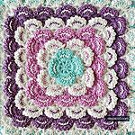 Transcendent Crochet a Solid Granny Square Ideas. Inconceivable Crochet a Solid Granny Square Ideas. Granny Square Pattern Free, Crochet Square Blanket, Granny Square Crochet Pattern, Crochet Blocks, Crochet Squares, Crochet Granny, Granny Squares, Free Pattern, Crochet Baby